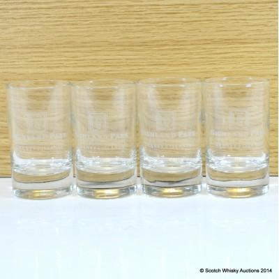 Highland Park Tasting Glasses x 4