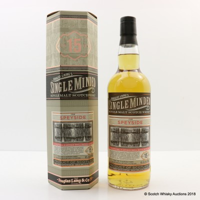 Speyside 15 Year Old Single Minded