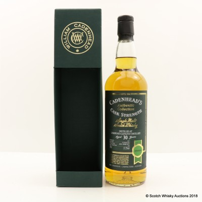 Linkwood-Glenlivet 1987 30 Year Old Cadenhead's