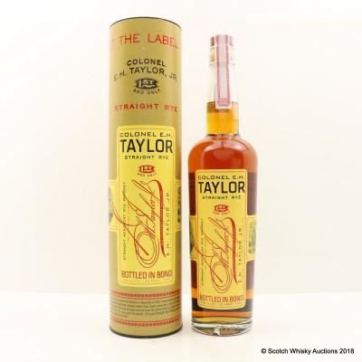 Colonel E.H Taylor Straight Rye 75cl