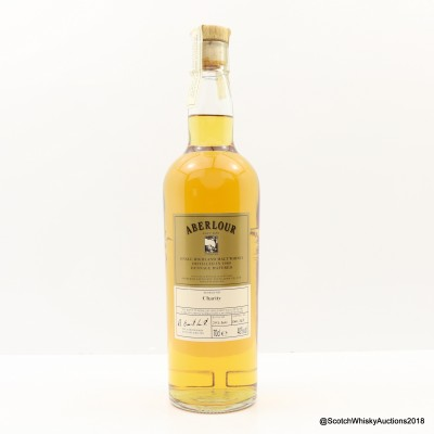 Aberlour 1989 Millennium Dunnage Reserve For Charity