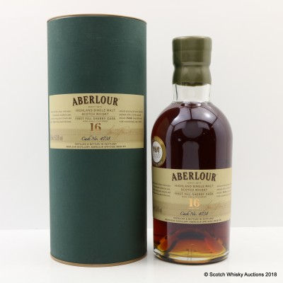 Aberlour 16 Year Old Whisky Exchange Exclusive