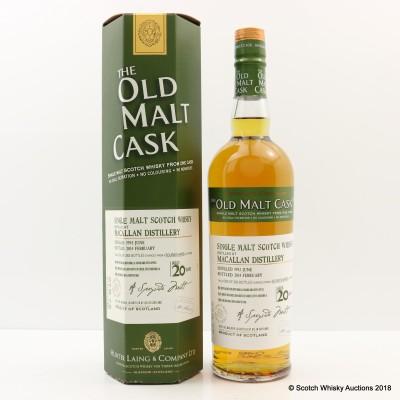 Macallan 1993 20 Year Old Old Malt Cask
