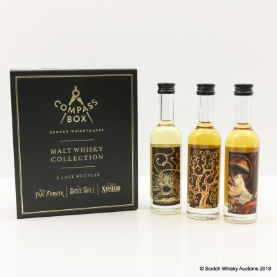 Compass Box Collection 3 x 5cl
