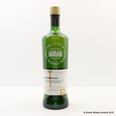 SMWS 100.19 Strathmill 2005 13 Year Old
