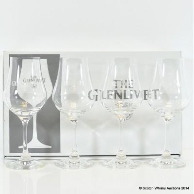 Glenlivet Crystal Nosing Glasses x 4
