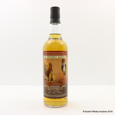 Glenallachie 1973 38 Year Old Whisky Agency