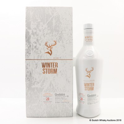 Glenfiddich 21 Year Old Winter Storm Batch #2