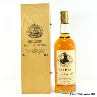 Scotch Whisky Heritage Centre 12 Year Old Blend