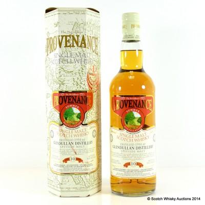 Glendullan 1994 10 Year Old Provenance