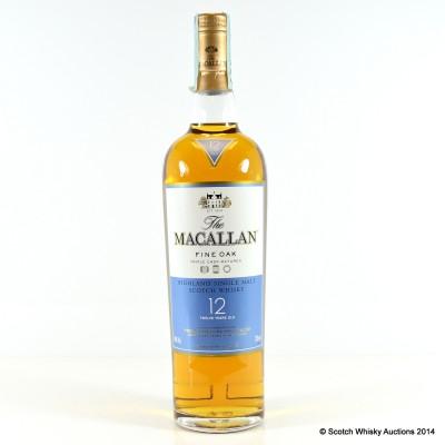 Macallan Fine Oak 12 Year Old