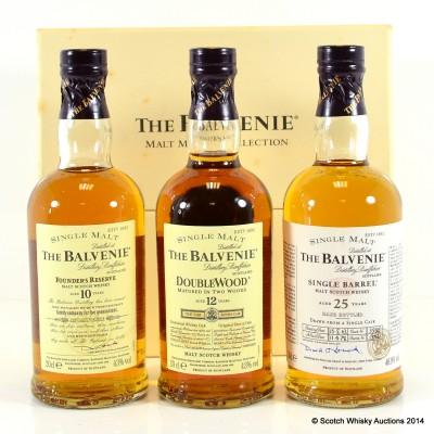 Balvenie Malt Master's Selection 3 x 20cl