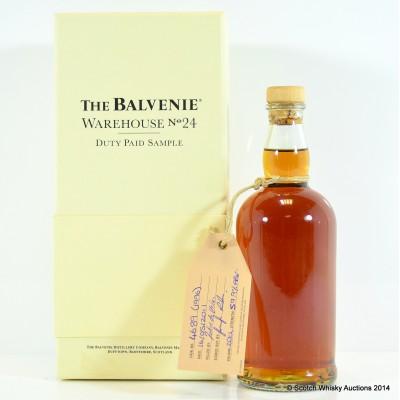 Balvenie Warehouse 24 20cl Sample