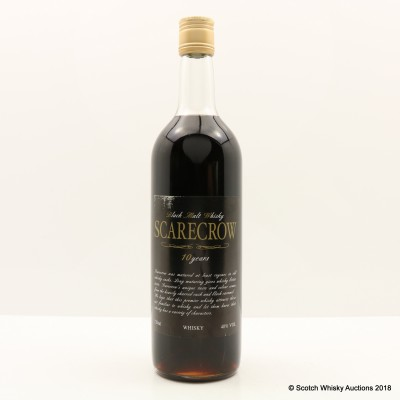 Scarecrow 10 Year Old Black Malt Whisky 72cl