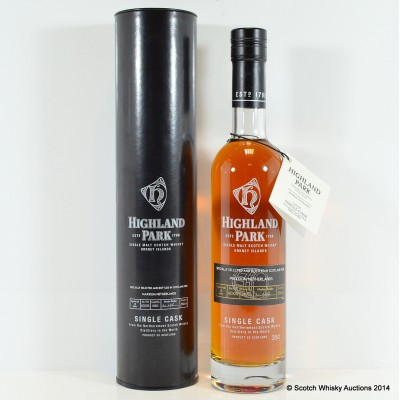 Highland Park Single Cask For Maxxium Netherlands 12 Year Old 35cl