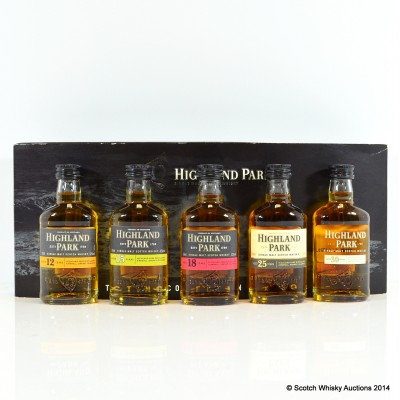 Highland Park Tasting Collection Minis 5 x 5cl