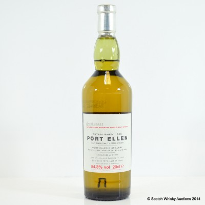 Port Ellen 6th Annual Release 1978 27 Year Old 20cl