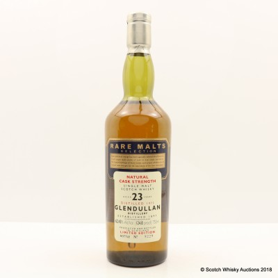 Rare Malts Glendullan 1972 23 Year Old 75cl
