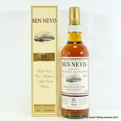 Ben Nevis 1996 15 Year Old