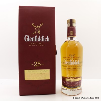 Glenfiddich 25 Year Old Rare Oak