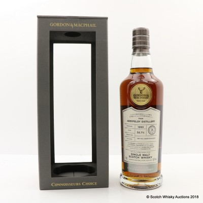 Aberfeldy 1993 24 Year Old Connoisseurs Choice Cask Strength