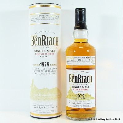 BenRiach Peated 1979 29 Year Old