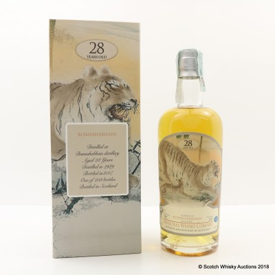 Bunnahabhain 1989 28 Year Old Silver Seal