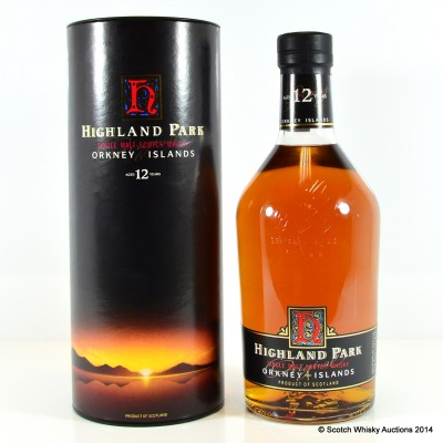 Highland Park 12 Year Old 1L