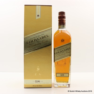 Johnnie Walker 18 Year Old Gold Label Centenary Blend