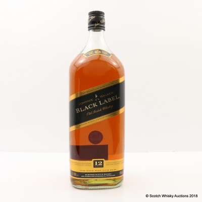 Johnnie Walker 12 Year Old Black Label 1.5L