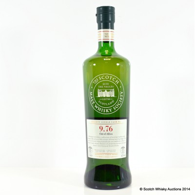 SMWS 9.76 Glen Grant 1988 25 Year Old