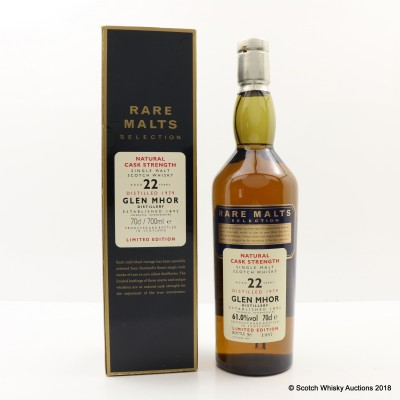 Rare Malts Glen Mhor 1979 22 Year Old