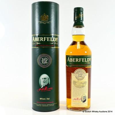 Aberfeldy 12 Year Old Tall Bottle