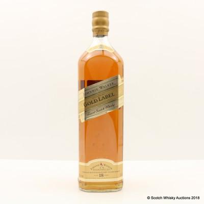 Johnnie Walker 18 Year Old Gold Label 1L