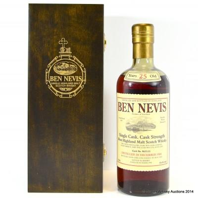 Ben Nevis 1984 25 Year Old