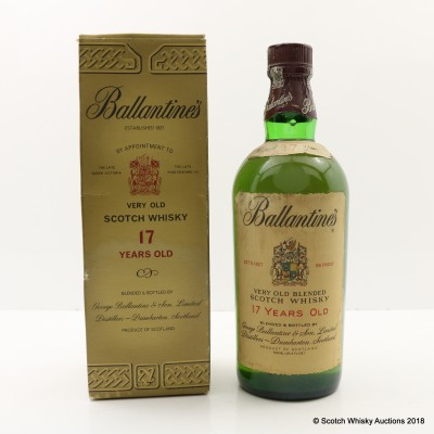 Ballantine's 17 Year Old 75cl