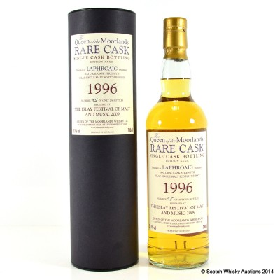 Laphroaig 1996 Queen Of The Moorlands