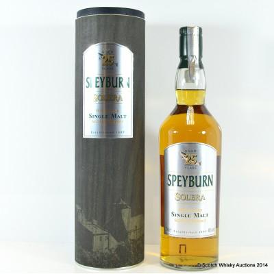 Speyburn 25 Year Old