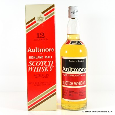 Aultmore 12 Year Old 26 2/3 Fl Ozs