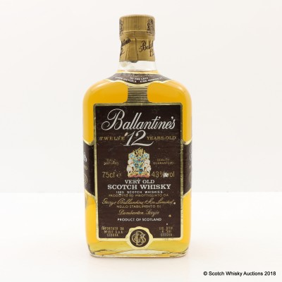 Ballantine's 12 Year Old Gold Seal 75cl