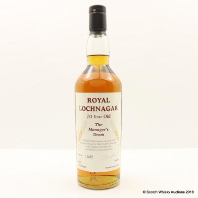 Manager's Dram Royal Lochnagar 10 Year Old