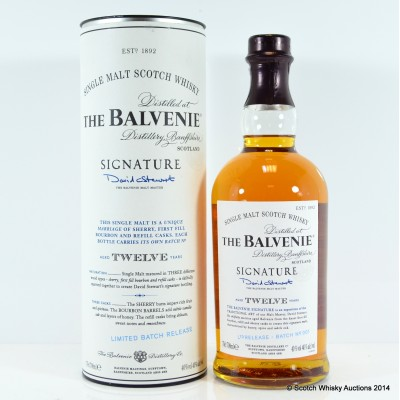 Balvenie Signature 12 Year Old Batch #1