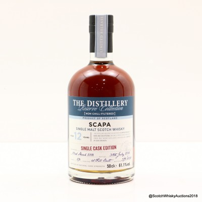 Scapa 2006 12 Year Old Distillery Reserve Collection 50cl