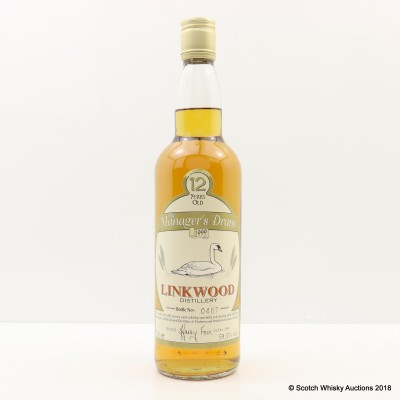 Manager's Dram Linkwood 12 Year Old