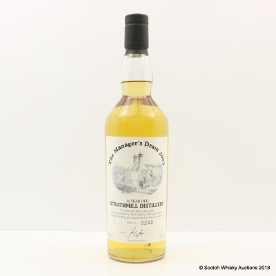 Manager's Dram Strathmill 15 Year Old