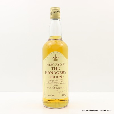 Manager's Dram Oban 13 Year Old 75cl