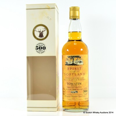 Tomatin 1964 Spirit of Scotland