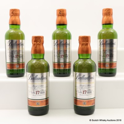 Ballantine's 17 Year Old Signature Distillery Miltonduff Edition 5 x 20cl
