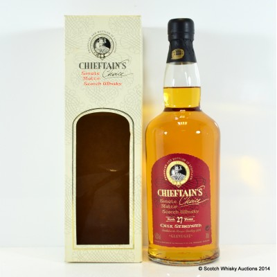 Glenugie 27 Year Old Chieftain's Cask Strength