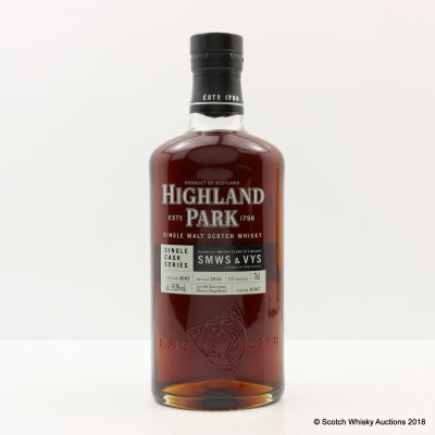 Highland Park 2002 13 Year Old For Whisky Clubs Of Finland Single Cask #6367